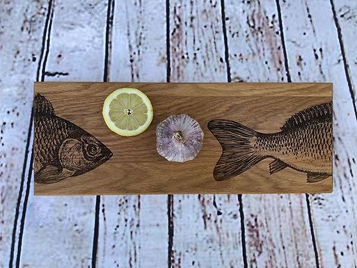 Servier / Schneidebrett - Fisch