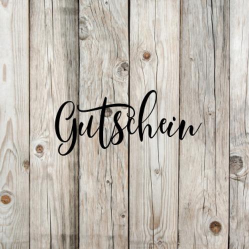 GUTSCHEIN 25.-