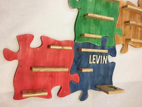 4er Set Tonieregal - Puzzle - Regale für Tonie Musikbox