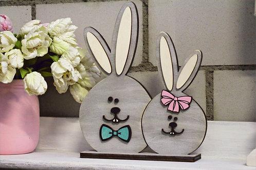 Deko Osterhasen - Honey & Bunny