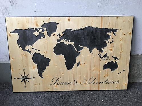 Weltkarte XL