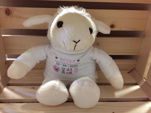 Kuschel-Schaf - Personalisiert