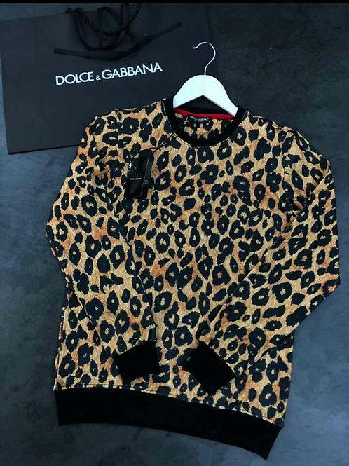 Animal print designer shirt