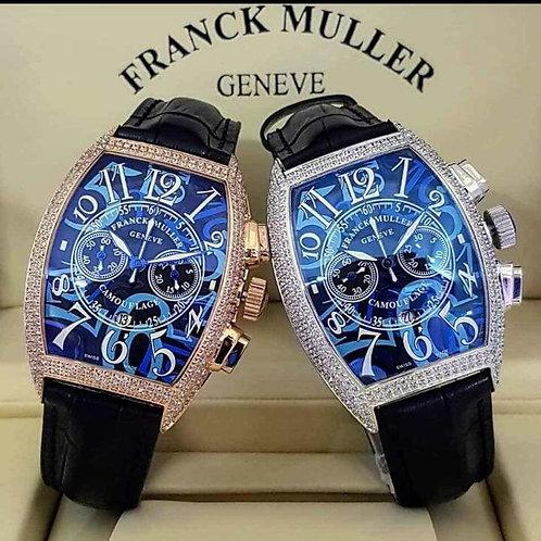 Designer Couples' Wristwatch- Frank Miller Geneve