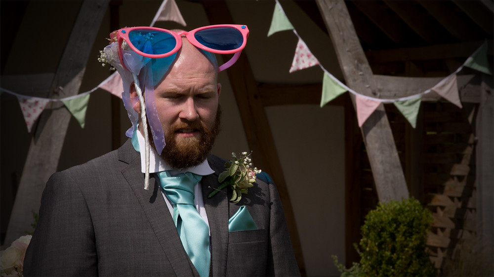 A wedding film captures those wodnerful moments during the day!