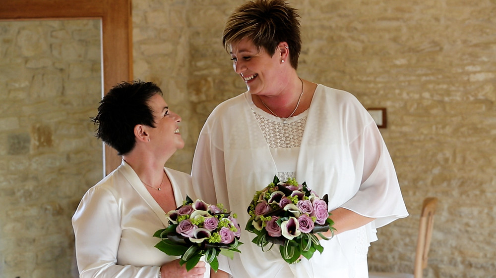 A Cotswold Wedding videographer was highly important to Jo & Nikey for future memories.