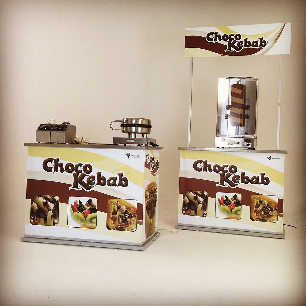 JM Posner, Choco Kebab machine filmed by FleaBee Films