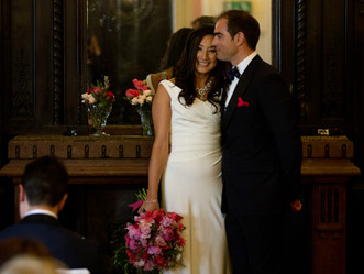 Jenny & Harris Wed at Dartmouth House