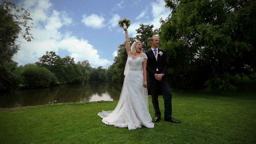 Grace and Alex were very happy with their fun filled luxury wedding video.