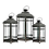 Thumbnail: Metal Lantern - Square Pattern