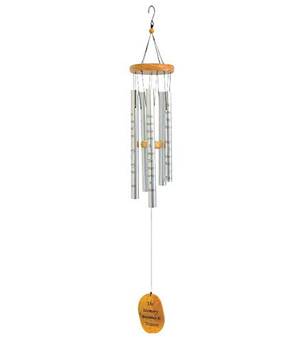 The Memory Becomes a Treasure Wind Chime