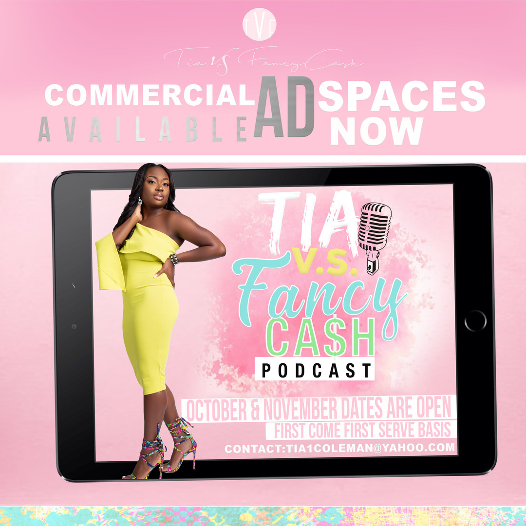 AD SPACES AVAILABLE