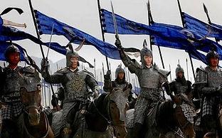 O exército de Yan prepara-se para o ataque.jpg