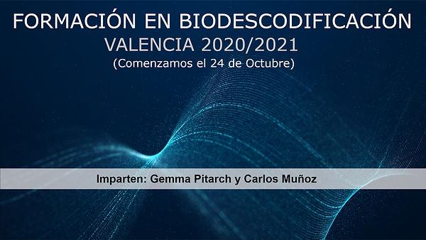 Cartel provisional Biodescodificacin Val