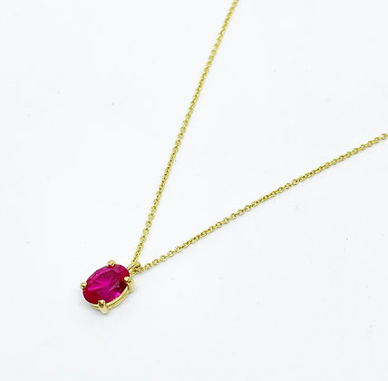 Necklace Oval 40cm