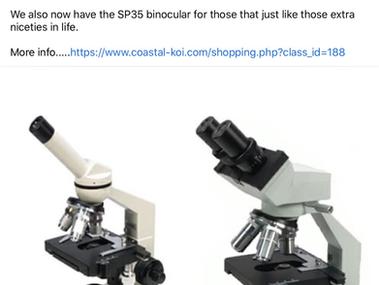 Microscopes.
