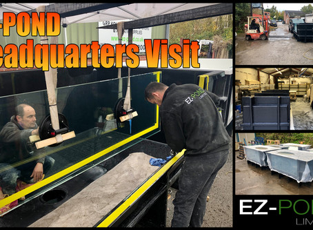 Ez-Pond HQ Visit