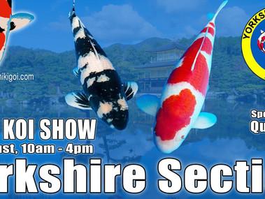 Yorkshire Section BKKS KOI SHOW