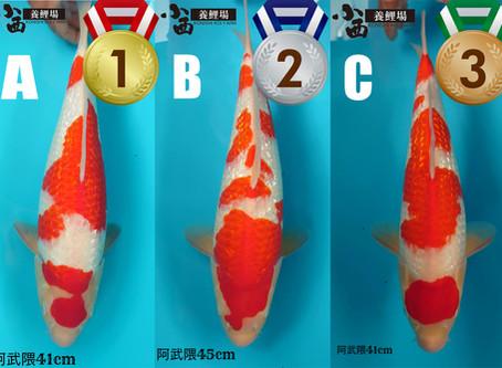 Konishi Kohaku Challenge - Results!