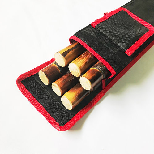 Stick Bag with 2 knife pockets (for 6-8pairs)