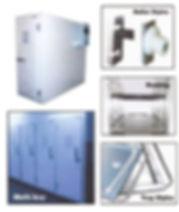 Refrigeration storage cabinet options