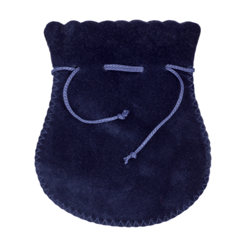 Navy Jewellery Pouch