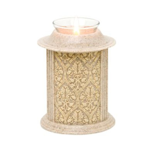 Eternity Desert Sand Filigree Candle Keepsake