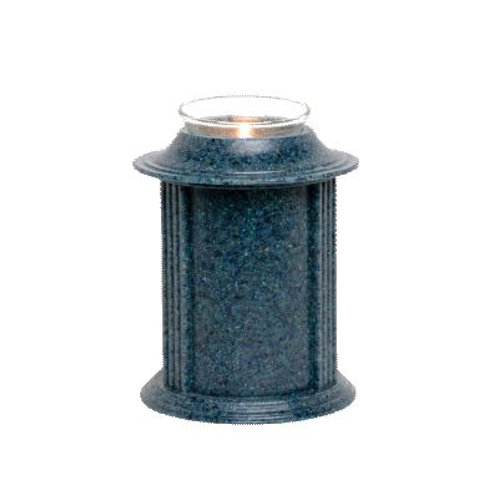 Eternity Tanzanite Candle Keepsake