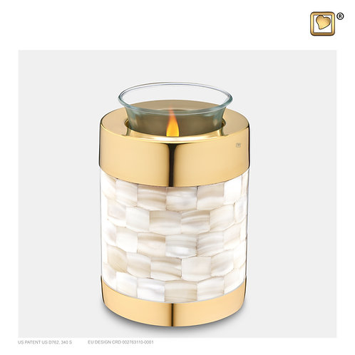 Mother of Pearl Tealight