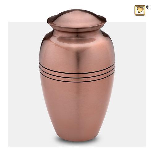 Radiance Urn Brushed Copper