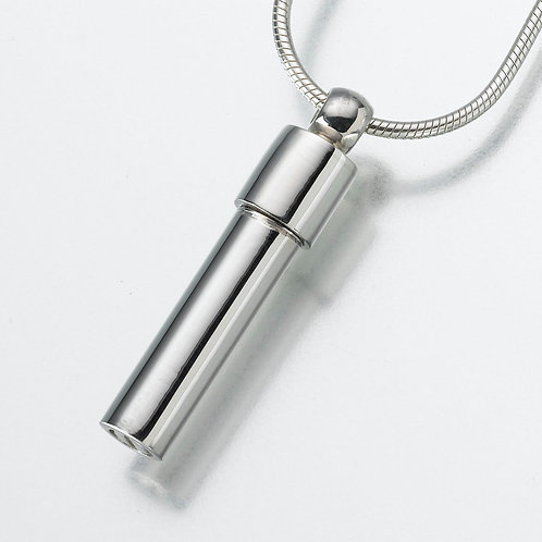 Sterling Silver Dual Chamber Cylinder