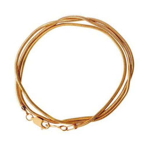 """Gold Snake Chain 20"""""""