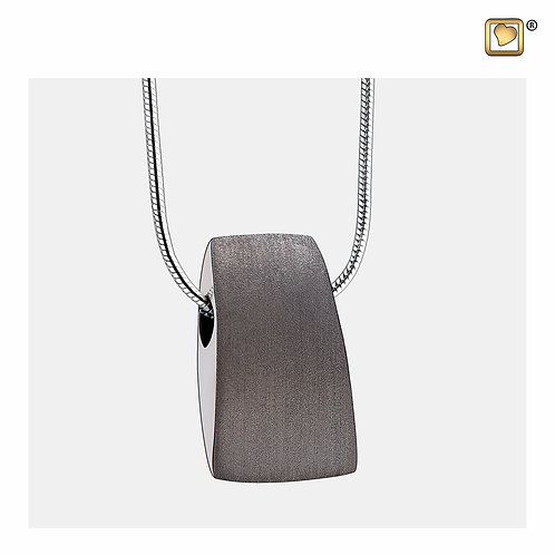 Tribute Ashes Pendant Brushed Ruthenium