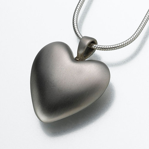 White Bronze Heart
