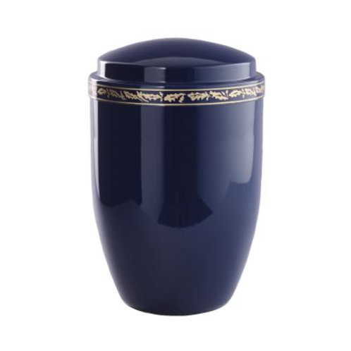 Roma Bleu Metal Urn