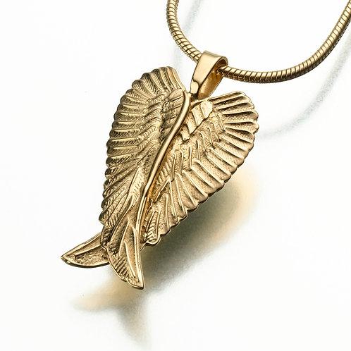 Gold Vermeil Angel Wings