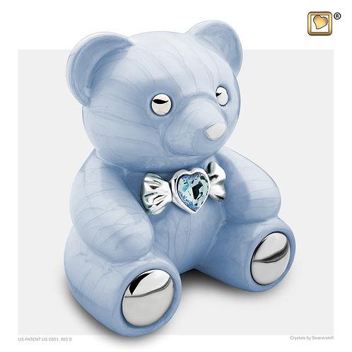 CuddleBear Urn Pearl Blue