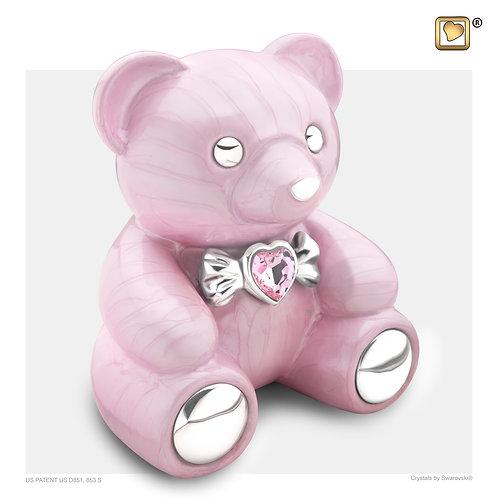 CuddleBear Urn Pearl Pink