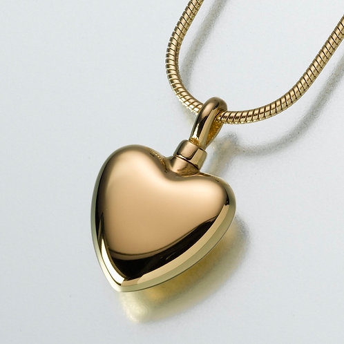Gold Vermeil Heart