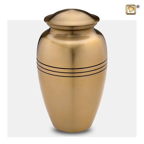 Radiance Urn Brushed Gold