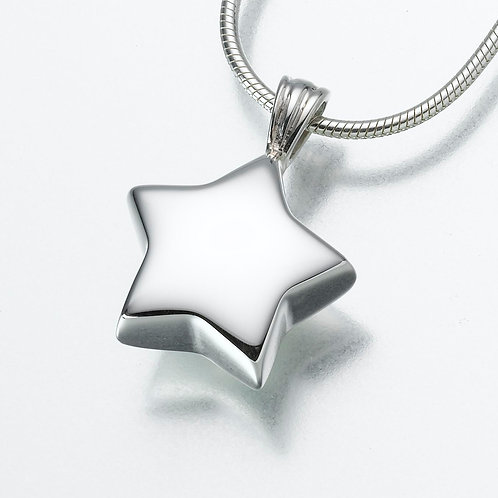 Small Sterling Silver Star