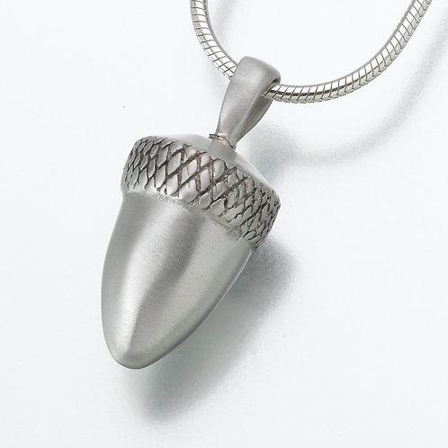 Sterling Silver Acorn