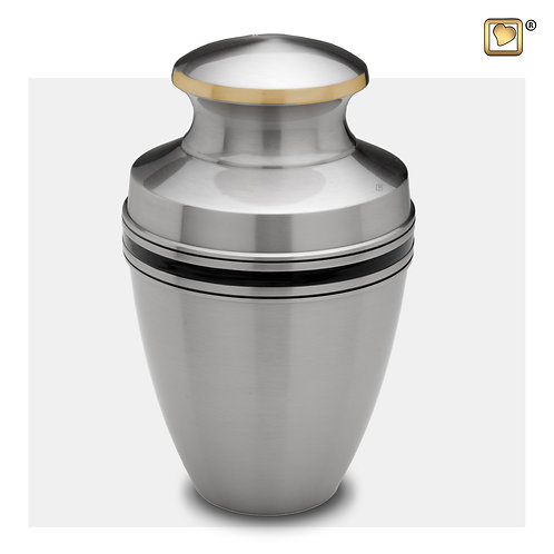 Classic Vienna Urn Brushed Pewter