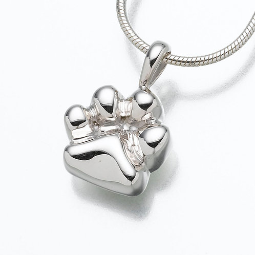 Sterling Silver Paw