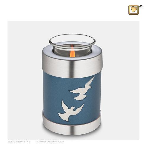 Divine Flying Doves Tealight Urn