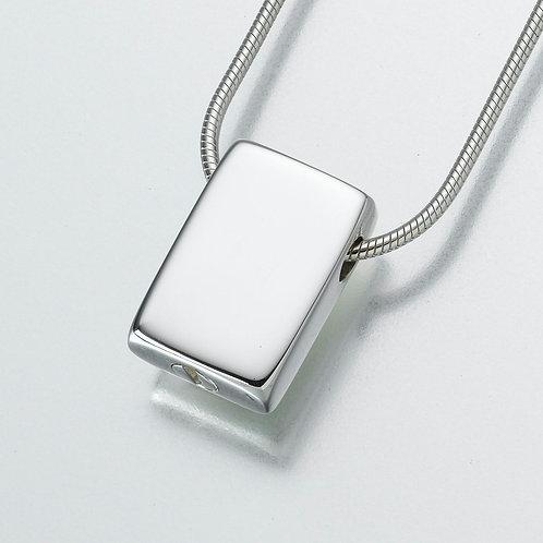Sterling Silver Slide Rectangle