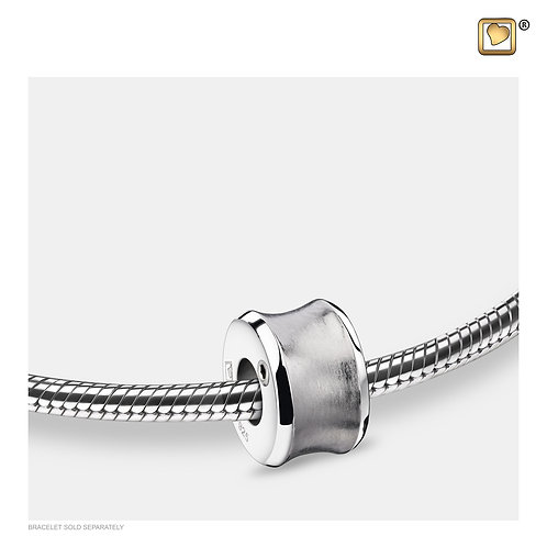 Path Ashes Bead Brushed Silver