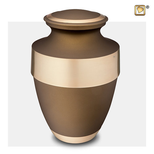 Espana Urn Bronze & Brushed Gold