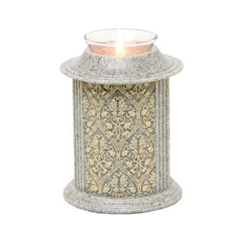 Eternity Stone Filigree Candle Keepsake