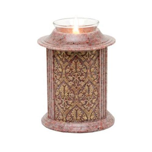 Eternity Ruby Filigree Candle Keepsake